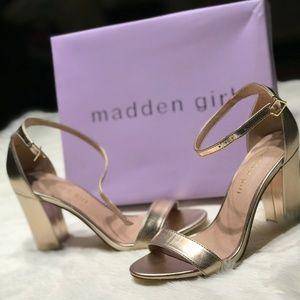 2073f439a422 Madden Girl Shoes - Madden Girl Bella Two-Piece Block Heel Sandals